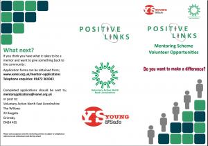 Mentor Recruitment Leaflet COVER IMAGE
