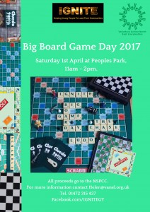 Big Board Game Day 2017 @ Peoples Park, Grimsby