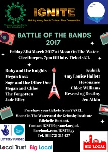 IGNITE Battle of the Bands @ Moon on the Water  | England | United Kingdom