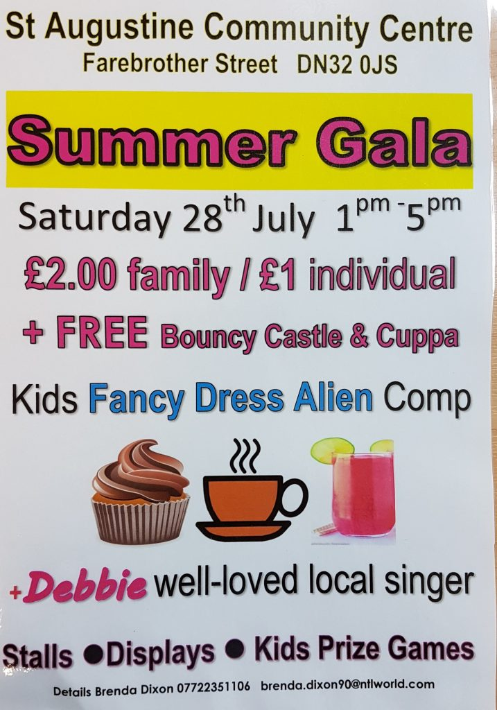 St Augustines Community Centre Gala Day @ St Augustines Community Centre