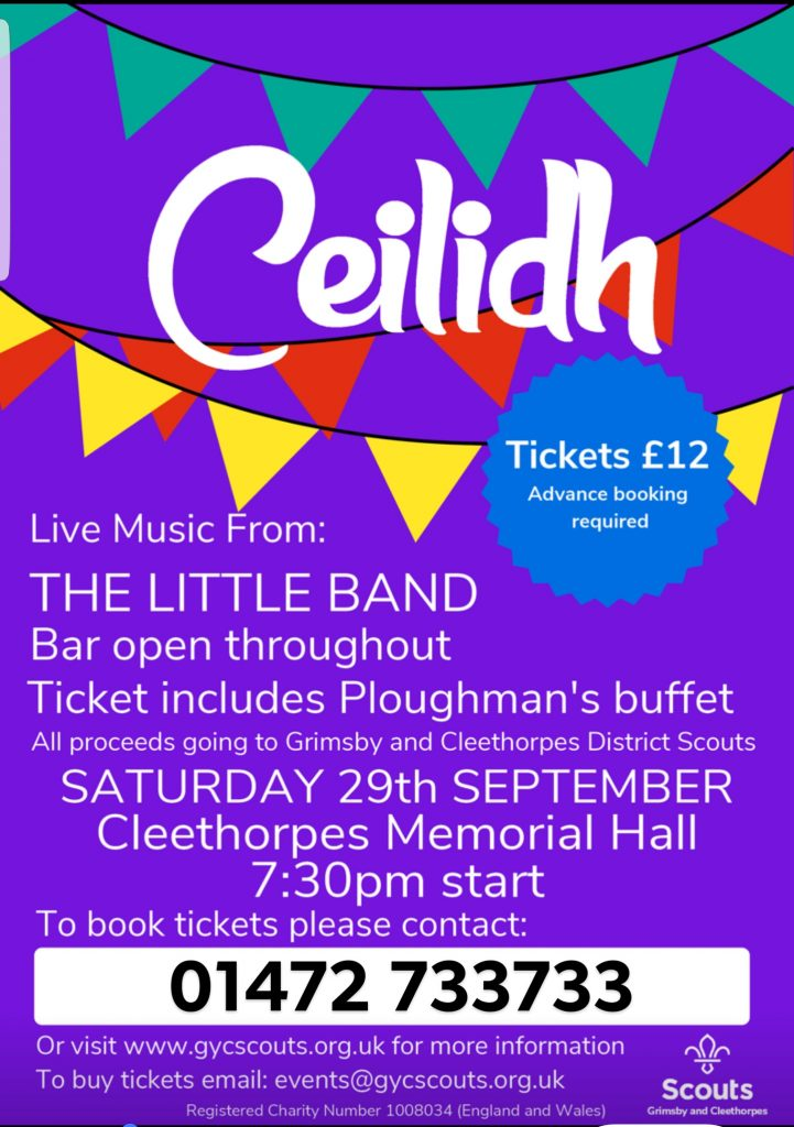 Grimsby and District Cleethorpes Scouts Ceilidh 2018