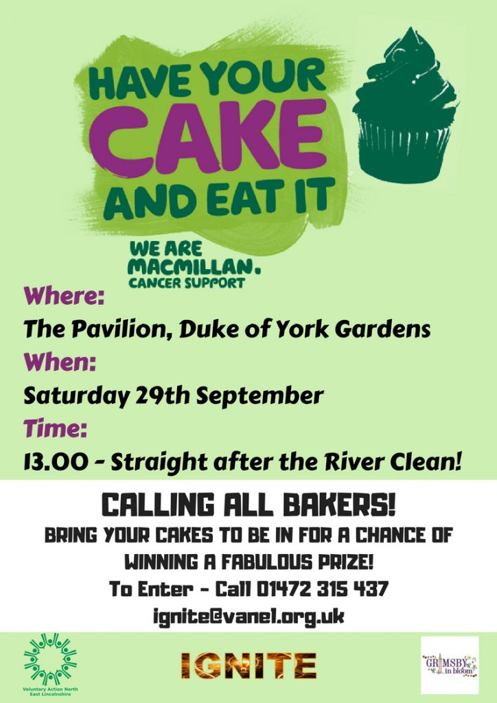 Have your cake and eat it Macmillan baking event with the IGNITE team