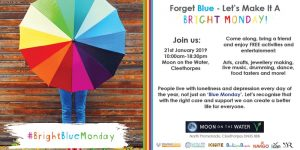 Bright Blue Monday - Forget Blue, let's make it a Bright Blue Monday @ Moon on the Water