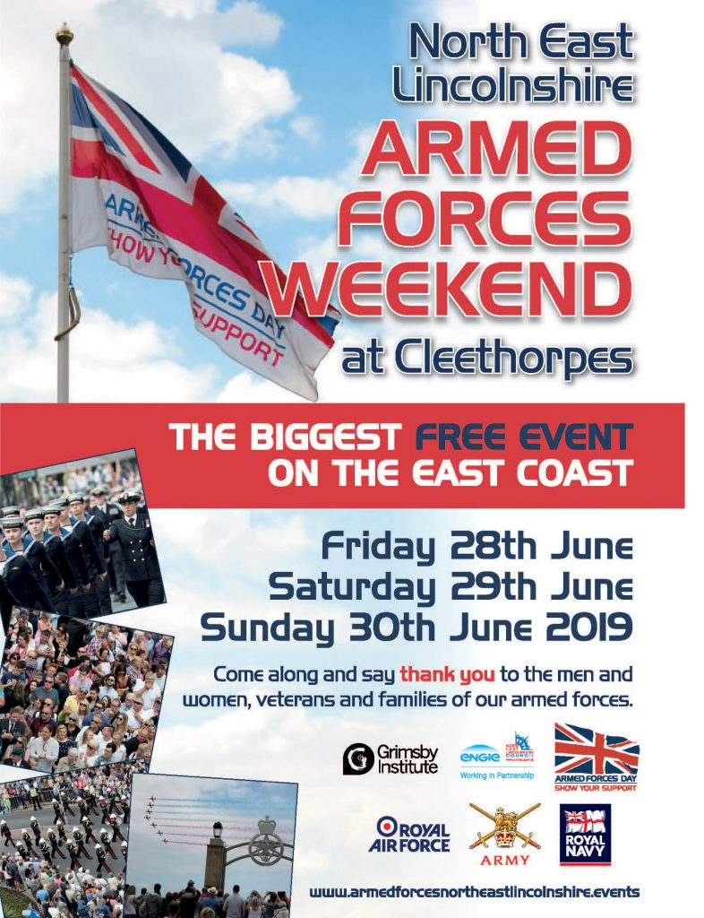 North East Lincolnshire Armed Forces Weekend in Cleethorpes @ Cleethorpes