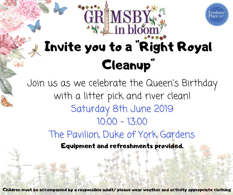 Grimsby in Bloom Litter pick