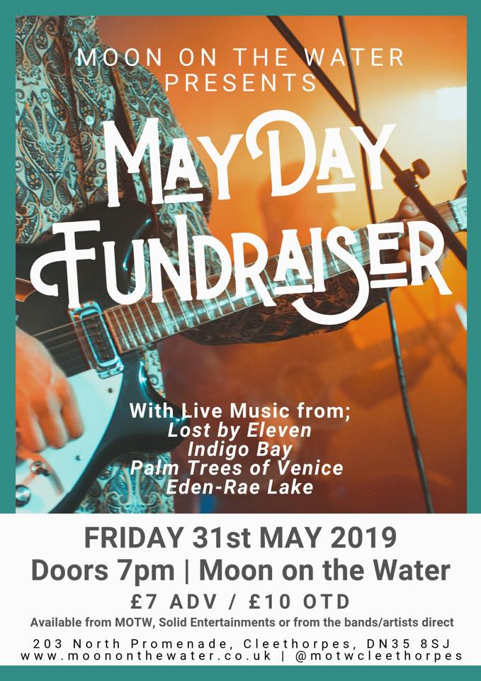 Mayday Fundraising Gig at Moon on the Water @ Moon on the Water, Cleethorpes