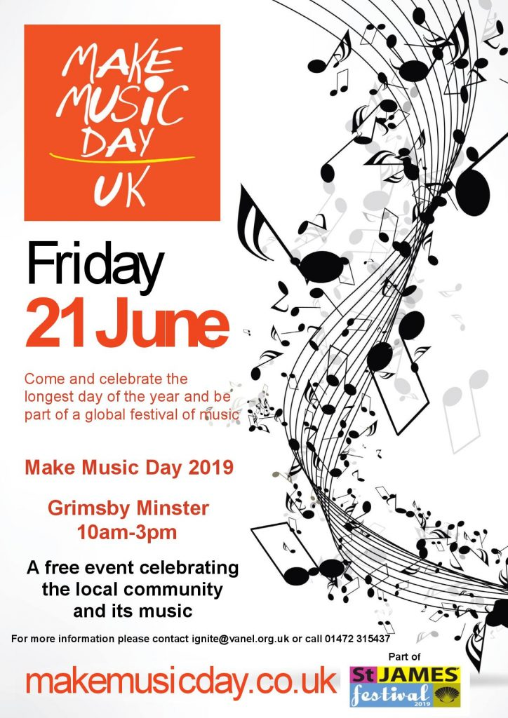 Make Music Event at Grimsby Minster for Make Music Day @ Grimsby Minster, Grimsby
