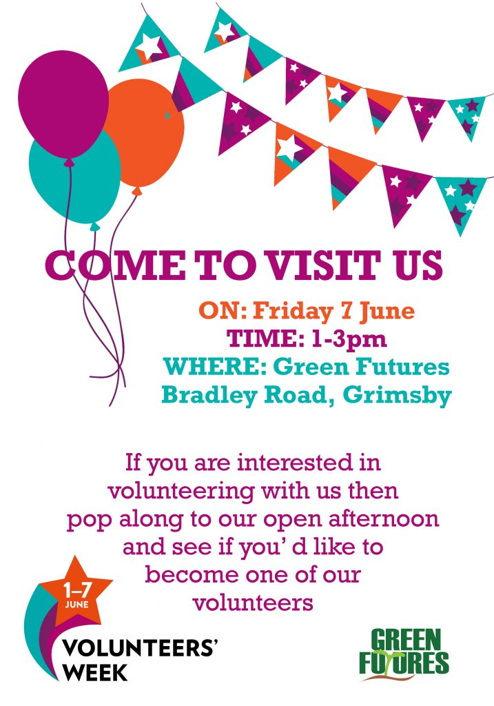 Volunteering Open Day at Green Futures @ Green Futures