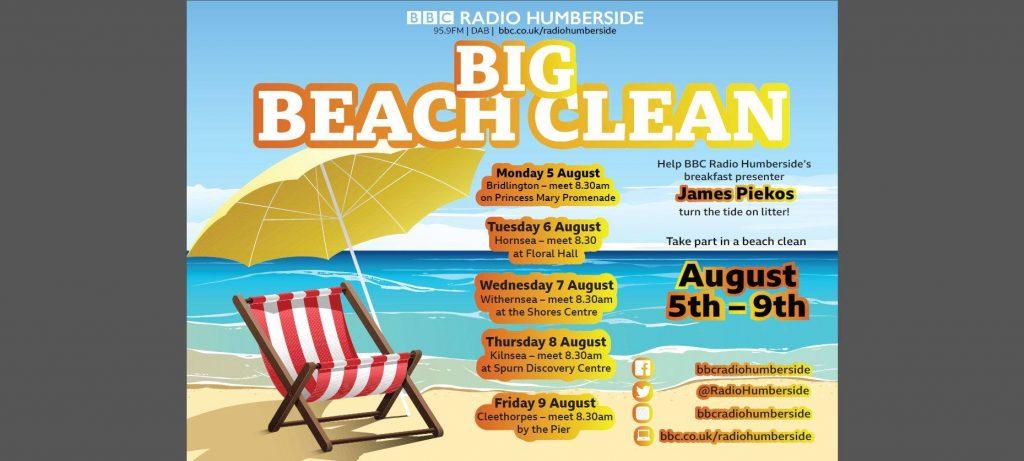 Cleethorpes Beach Clean